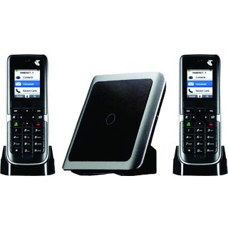 Intercom Cordless Phone 1 Line 2 Extension Wireless EPABX Plan 1+1