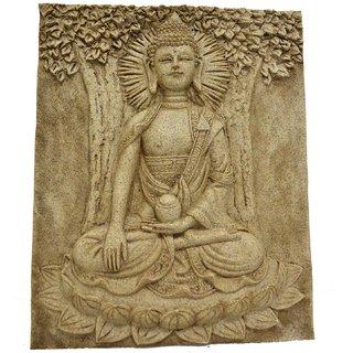 LAVANSHI Decorative Showpiece - 25 cm (Polypropylene, Brown)