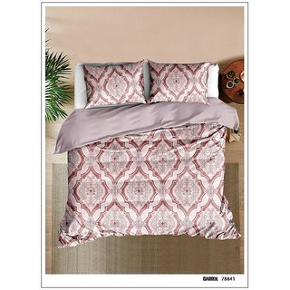Beautiful Glace Cotton King Size in floral Urban Tribe Bedsheet