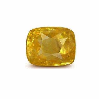 6.25 Ratti Certified Pukhraj (Yellow Sapphire) Loose Precious Gemstone