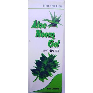 Nimba Aloe Neem Gel For Skin Moisture, Anti Septic Pack of 5