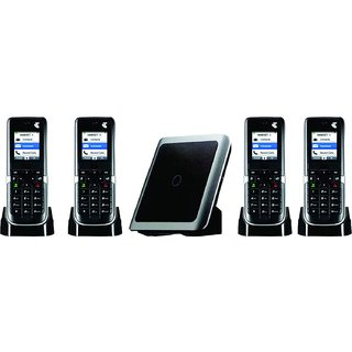 Intercom Cordless Phone 1 Line 2 Extension Wireless EPABX  4 pic Combo