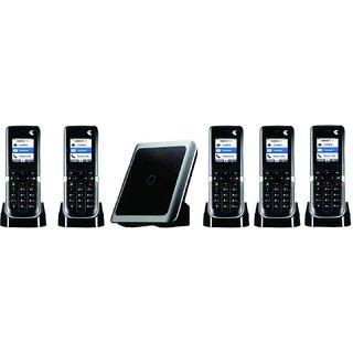 Intercom Cordless Phone 1 Line 2 Extension Wireless EPABX  5 pic Combo