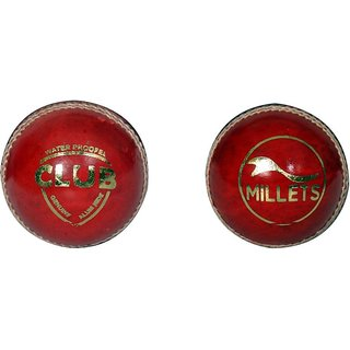 Millets Club pack of 2 Red leather ball