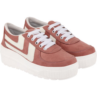 Do Bhai Women's Tan Casual shoe