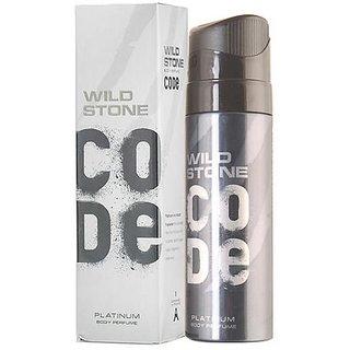Wild Stone Code Platinum Perfume Body Spray for Men 120ML