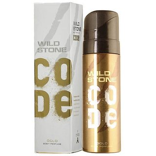 Wild Stone Code Gold Perfume Body Spray for Men 120ML
