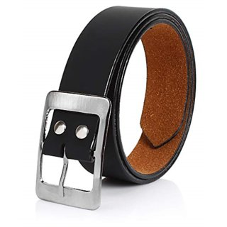 c5b9dc243a8 Buy Amazeexpress - PU Leather Formal Casual stylish Black Belt for Men and  Boys Online - Get 70% Off