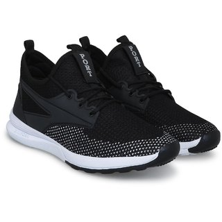 Port Men Black Casual Shoes