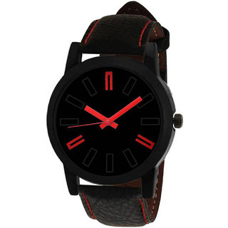 MF New Design Formal Collection Black Leather Strap Men And Boys Watch