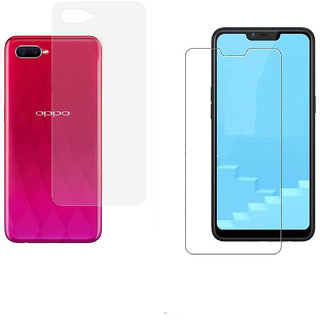 Realme C1 Unbreakable Screen Protector with Hammer Proof Protection Impossible Screen Guard Scratch Resistant