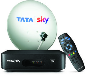 Tata Sky HD Connection With One Month Bengali Hindi Basic HD Pack
