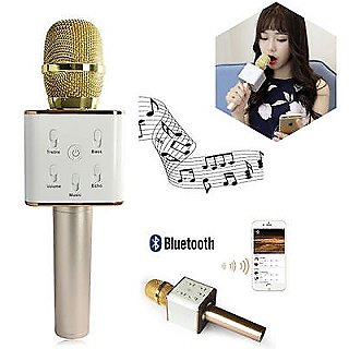 Wireless Music mike speaker bluetooth karaoke microphone hi-fi handheld