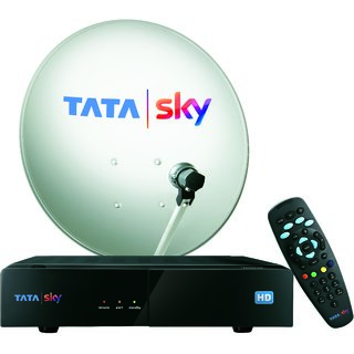 Tata Sky HD Box with One Month Marathi Hindi Basic HD Pack