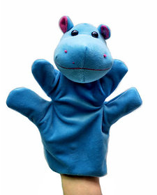 Kuhu Creations Supreme Imagination Stories Puppet. (MHP Hippo Blue)