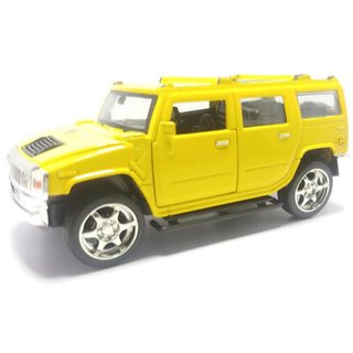 Buy Tingoking Scale Model Modified Hummer Push Back Die Cast Cars