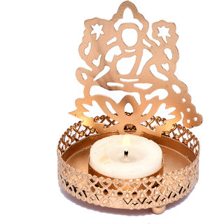 Decorative Satya Shadow Lakshmi Tea-light Candle Holder for Home Decor