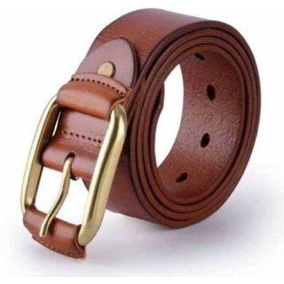 Phoenix  International Men Brown Pure Leather Belt