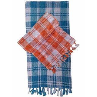 2 Full Size Soft Cotton Bath Towel (Assorted Color)