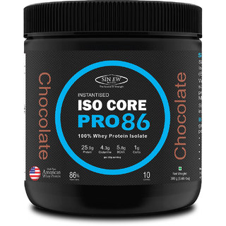 Sinew Nutrition Isocore Pro 86 Whey Protein Isolate - Chocolate, ( 300 Gm)