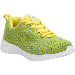 WELCOME Women Casual Yellow  Sky Running Shoes LFN51YELLOWSKY