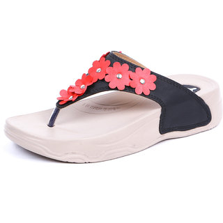 WELCOME Women Casual Black Walking Sandal HF03BLACK