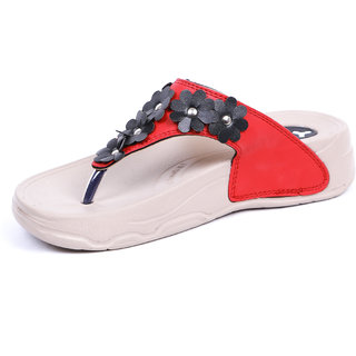 WELCOME Women Casual Red Walking Sandal HF03RED
