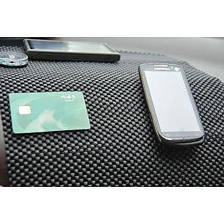 Car Non Slip Dashboard Mat Car Coin Key Anti Slip Glass Dash Pad