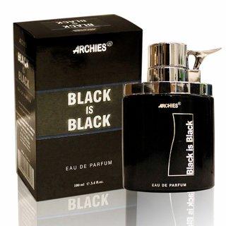 ARCHIES - PERFUME BLACK IS BLACK 100ML (PACK OF 2)