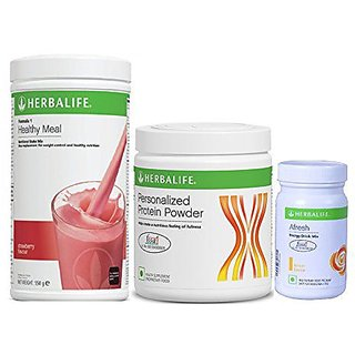Herbal life Formula 1 Strawberry Flavour Protein And Afresh Ginger !