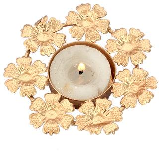 Decorative Flower Shape Design Candle Light Holder Home Decorative Tea Light Holder