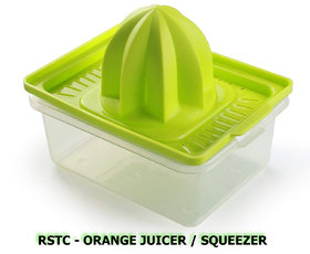 RSTC MANUAL ORANGE JUICER SQUEEZER SET OF 1 (GREEN COLOUR )