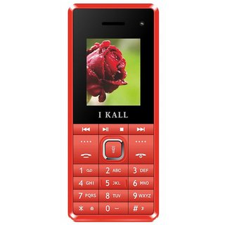 IKall K2180 Without Charger (Dual Sim, 1.8 Inch Display, Selfie Camera, 800 Mah Battery, Made In India)