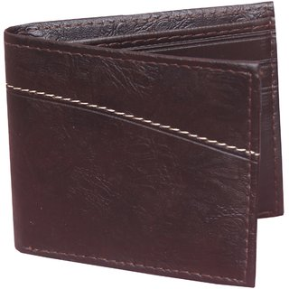fashlook mens brown wallet (Synthetic leather/Rexine)