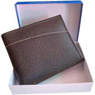 fashlook mens brown wallet