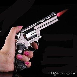 Jain Gift Gallery GUN LIGHTER WITH COVER