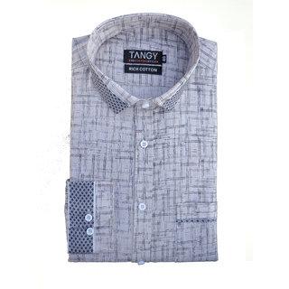 Tangy Mens Wear Printed Shirt