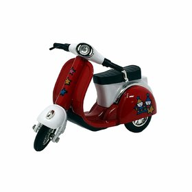 Jain Gift Gallery Die-Cast Scooter Toy 114 Pull Back Action Mini Metal Motorcycle Bike 4.2 Inch Long