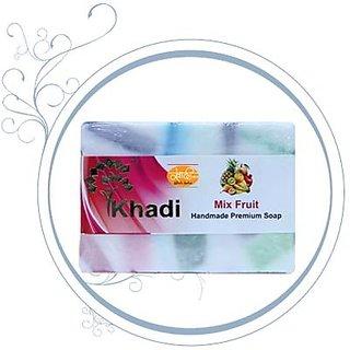 Kailash Khadi Mix Fruit Premium Soap-125Gm (Pack of 3)