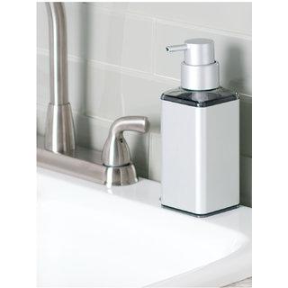 Interdesign Ultra Rustproof Aluminum Soap Dispenser Pump for Kitchen or Bathroom Countertops - Silver