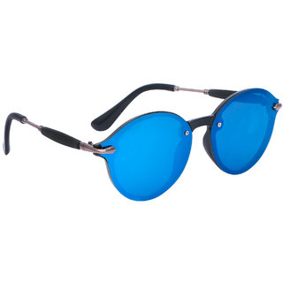 4523b0528f2c3 Buy TheWhoop Stylish Goggles Mercury Round Sunglasses For Men And Women  Online - Get 66% Off