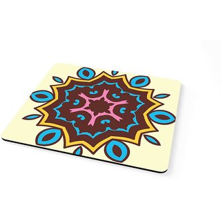 100yellow Floral Theme Mouse pad Gaming Mouse Pad for Laptops and Computers