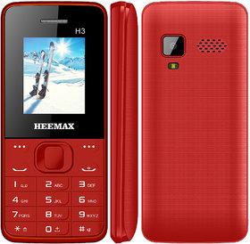 HEEMAX H3  (Dual Sim, 1.8 Inch Display, 1000 Mah Battery, 1 YEAR WARRANTY, Made In India )