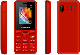HEEMAX H4  (Dual Sim, 1.8 Inch Display, 1000 Mah Battery, 1 YEAR WARRANTY, Made In India )