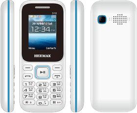 HEEMAX P310  (Dual Sim, 1.8 Inch Display, 1000 Mah Battery, 1 YEAR WARRANTY, Made In India )