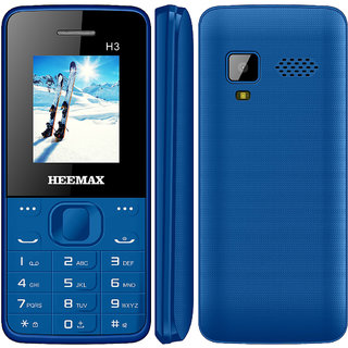 HEEMAX H3 (Dual Sim, 1.8 Inch Display, 1000 Mah Battery, 1 YEAR WARRANTY, Made In India )