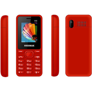 HEEMAX H4  (Dual Sim, 1.8 Inch Display, 1000 Mah Battery, 1 YEAR WARRANTY, Made In India )