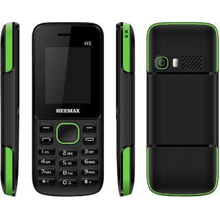 HEEMAX H5  (Dual Sim, 1.8 Inch Display, 1000 Mah Battery, 1 YEAR WARRANTY, Made In India )