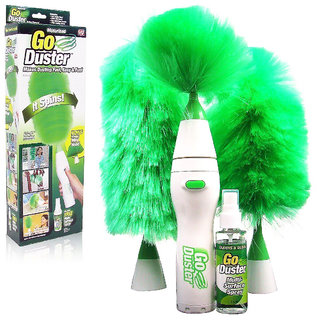 Electric Duster Motor-Driven Feather Duster Dust Brush For Home,Laptop,Car Cleaning
