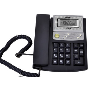 Sonics Hands Free 2 way Speaker Phone with LCD Clock (SS-3818)